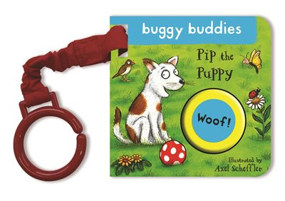 Book cover for Pip the Puppy Buggy Book